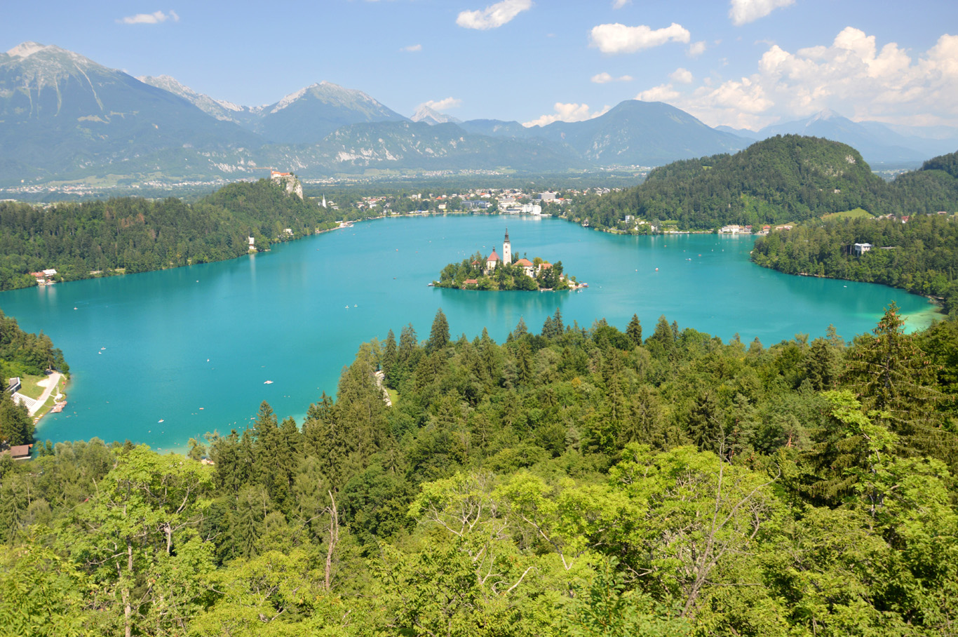 Lake Bled - view from Mala Osojnica