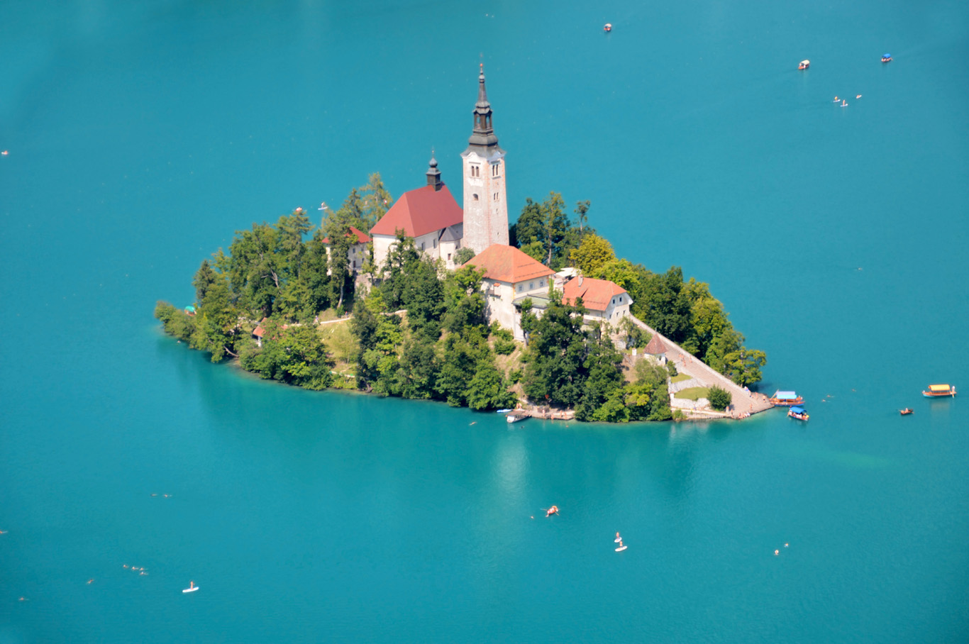 Bled Island - close up