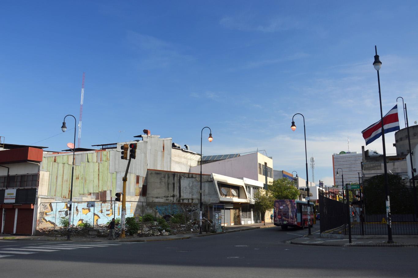 San Jose outside the city center