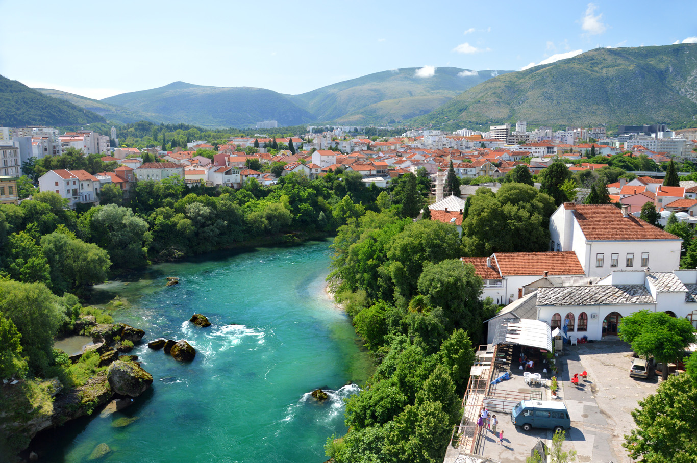 The new part of Mostar