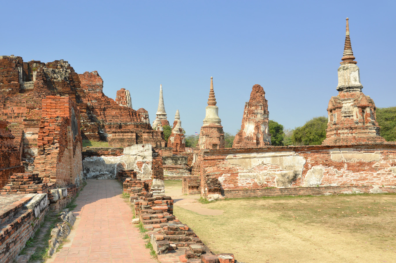 Ruins of the temples