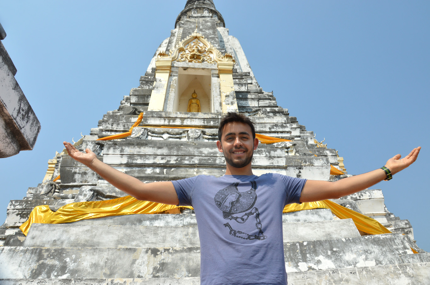On top of the Chedi Phukhao Thong