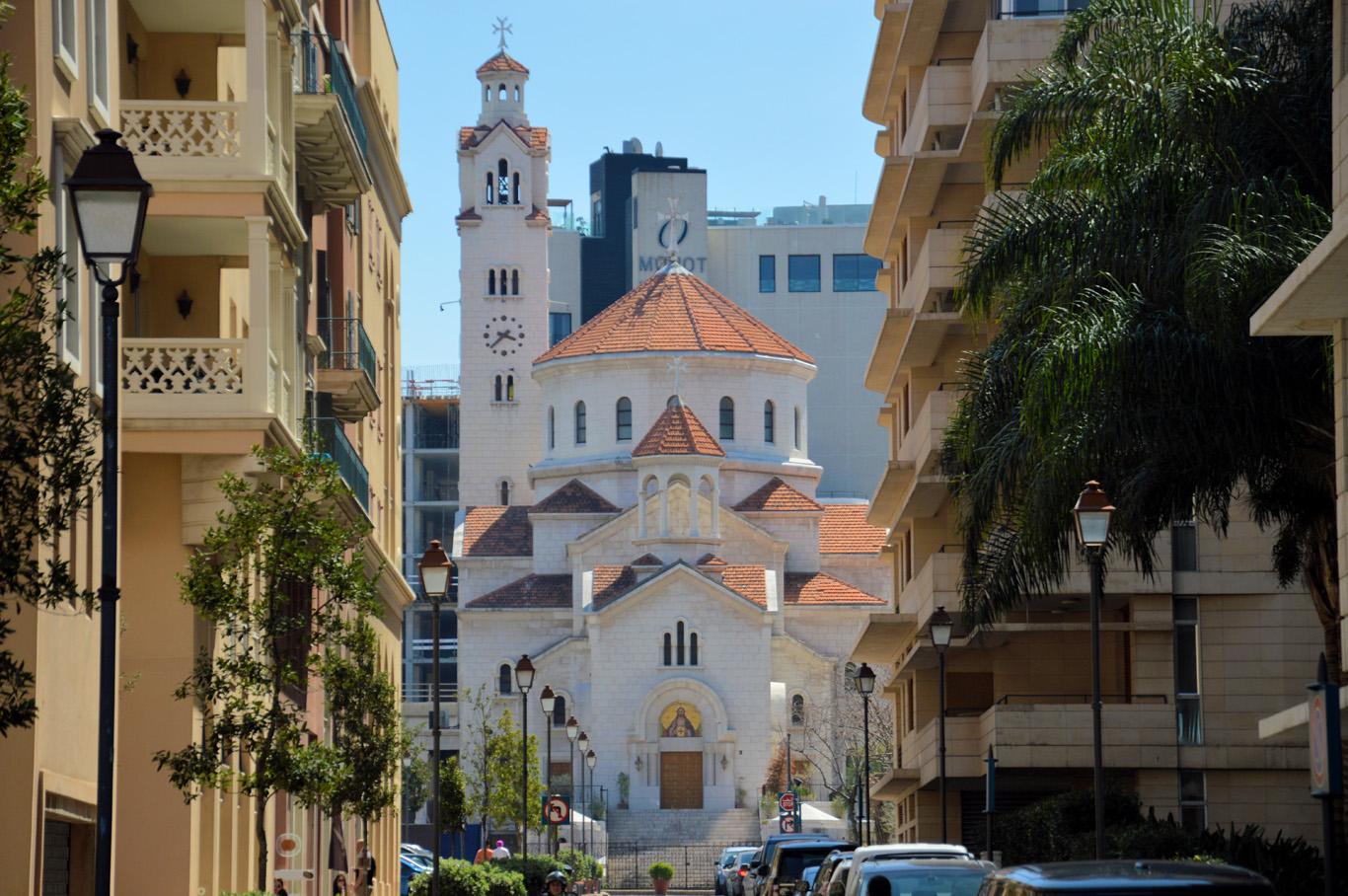 Armenian Church near downtown