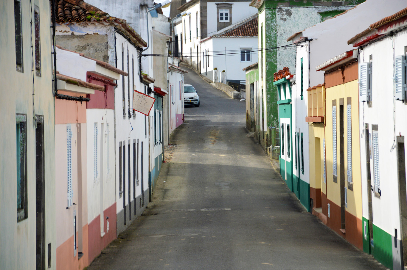Houses in one of the villages