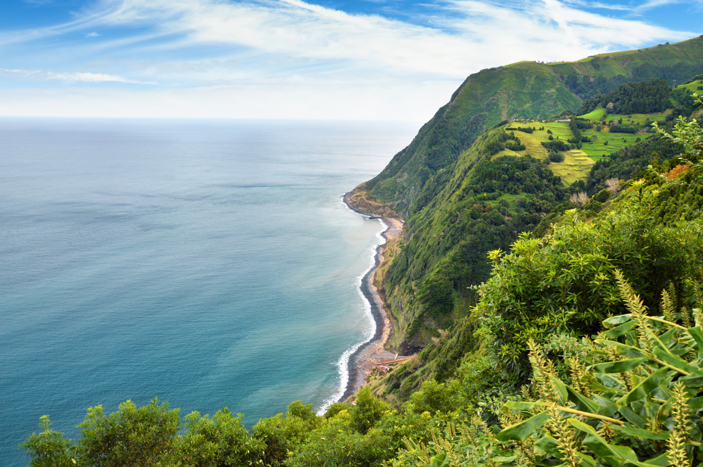 View from the miradouro da Ponta do Sossego