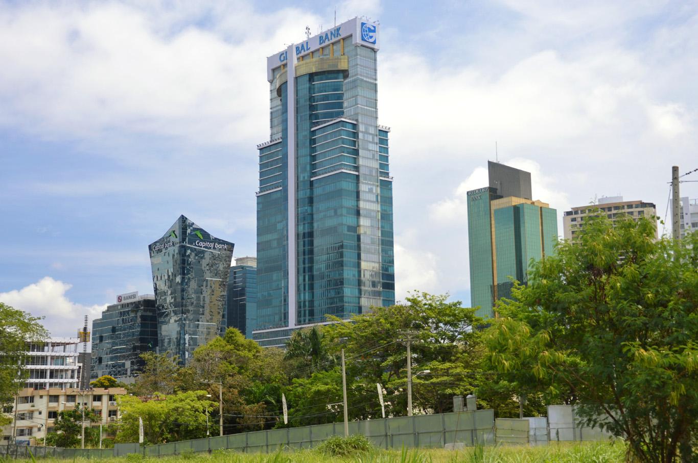Panama City - modern center