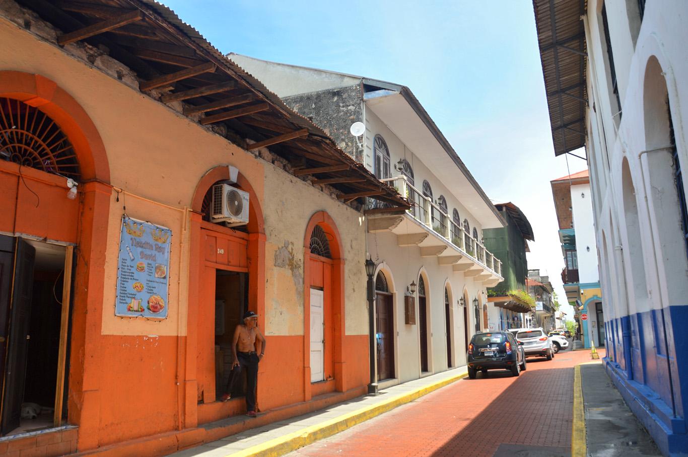 A street in Casco Viejo