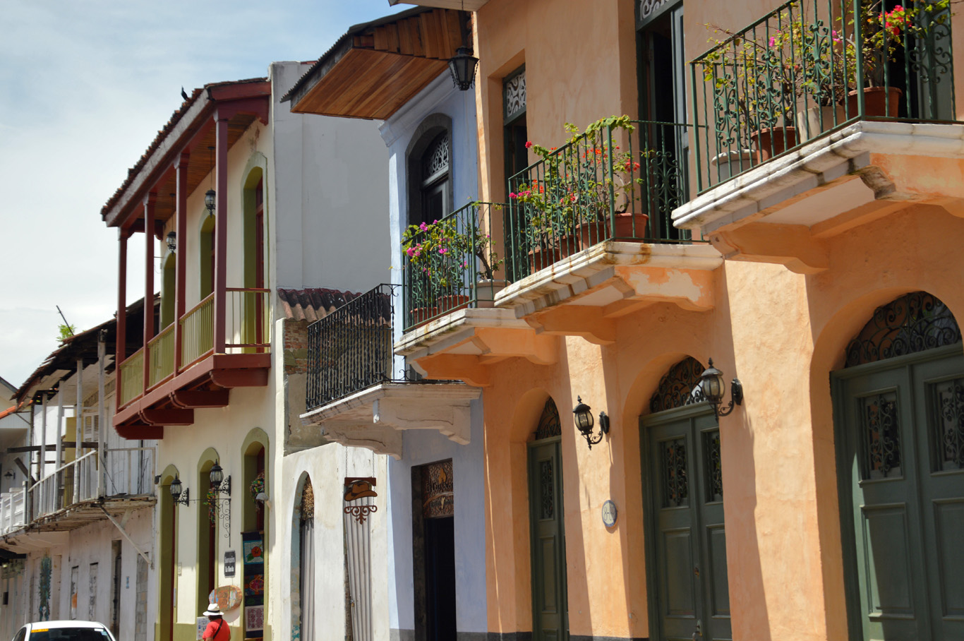 Beautiful houses in Casco Viejo