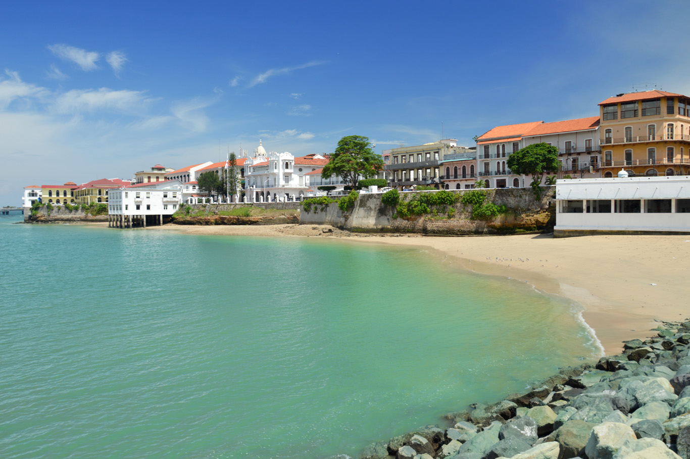 Casco Viejo from a distance