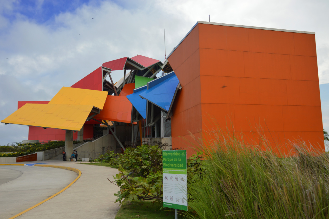 Interesting building of the Biodiversity Museum