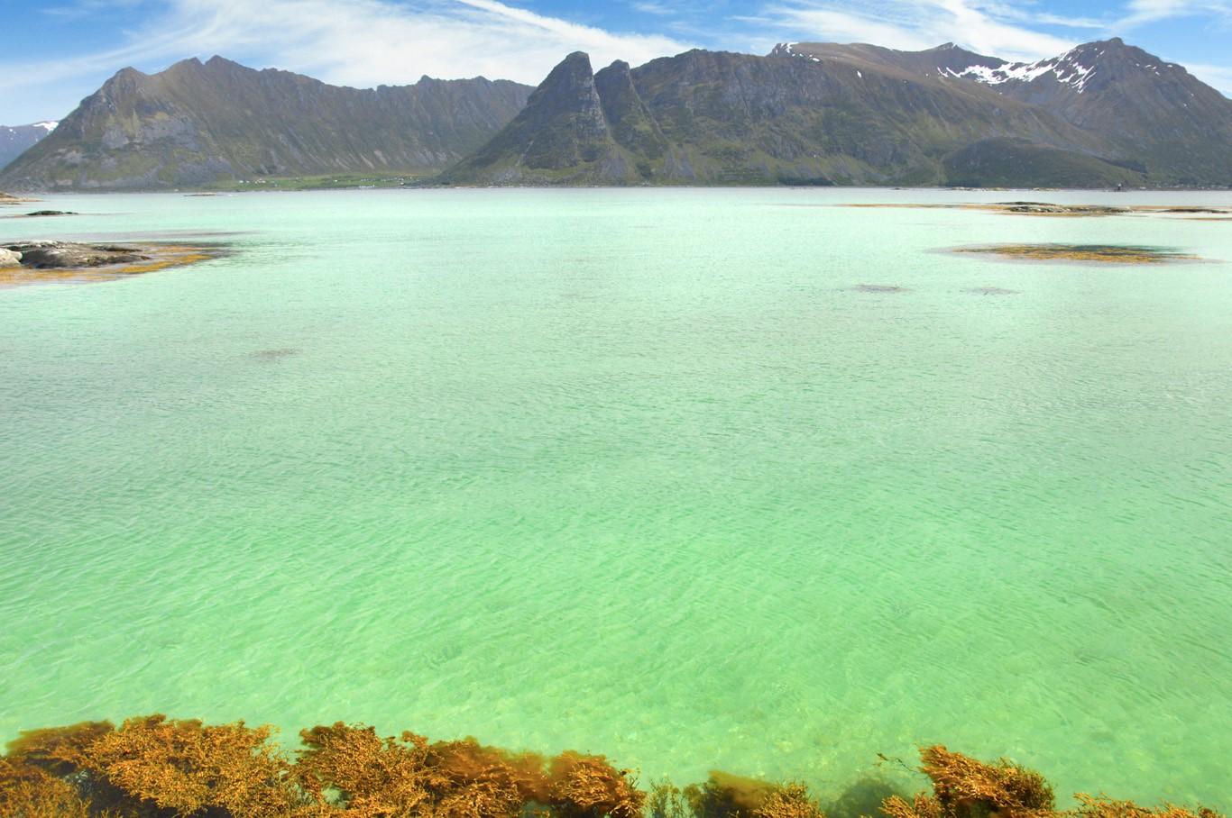 Lagoon at Gimsoysand