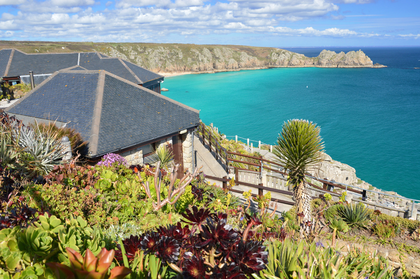 The Gardens at Minack Theater