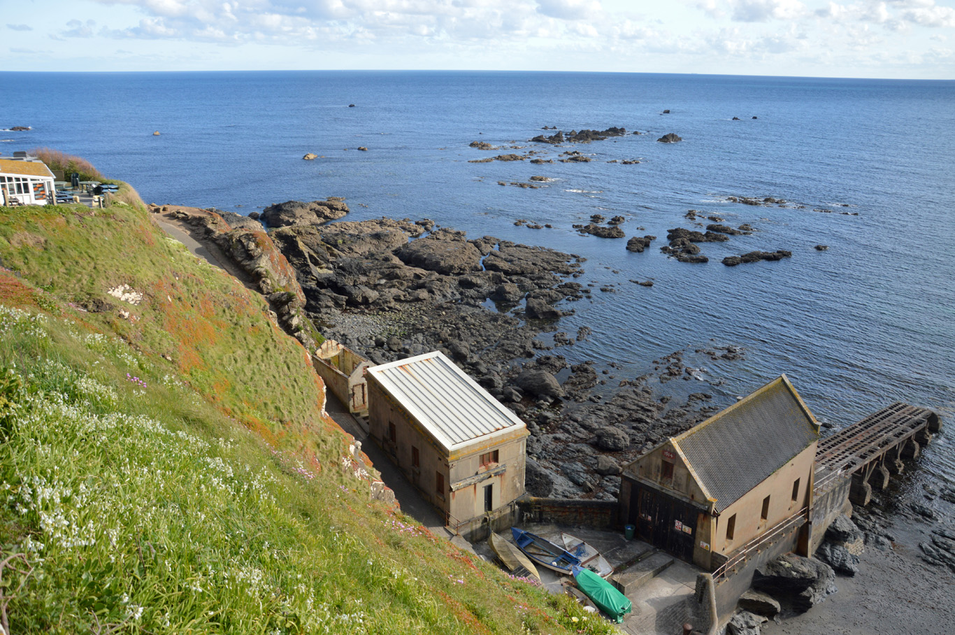 Lizard Point - the southernmost point of England