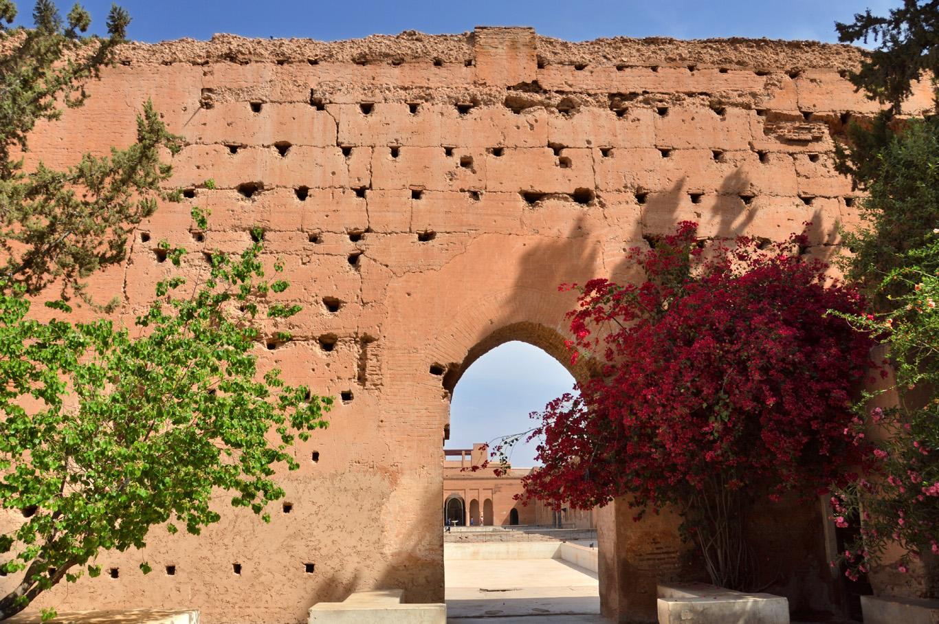 Badii Palace Walls