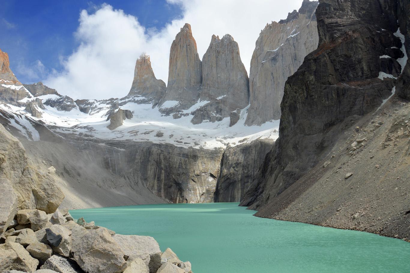W Trek Day 3 - Torres del Paine    more info