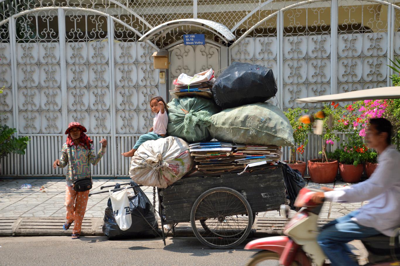 Streets in Phnom Penh