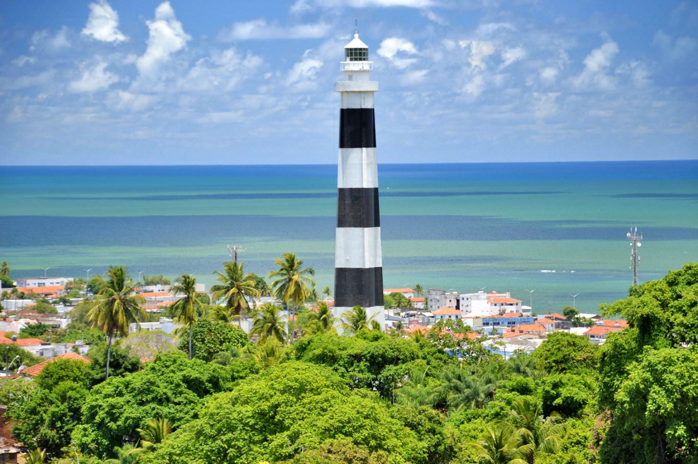 The lighthouse in Olinda