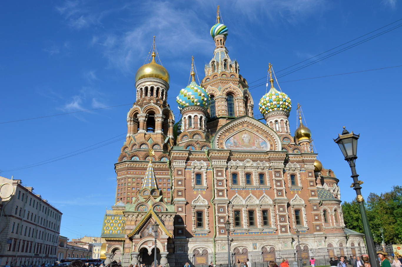 Savior on the Spilled Blood Cathedral