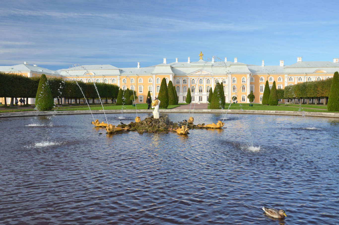 Peterhof - Upper Gardens