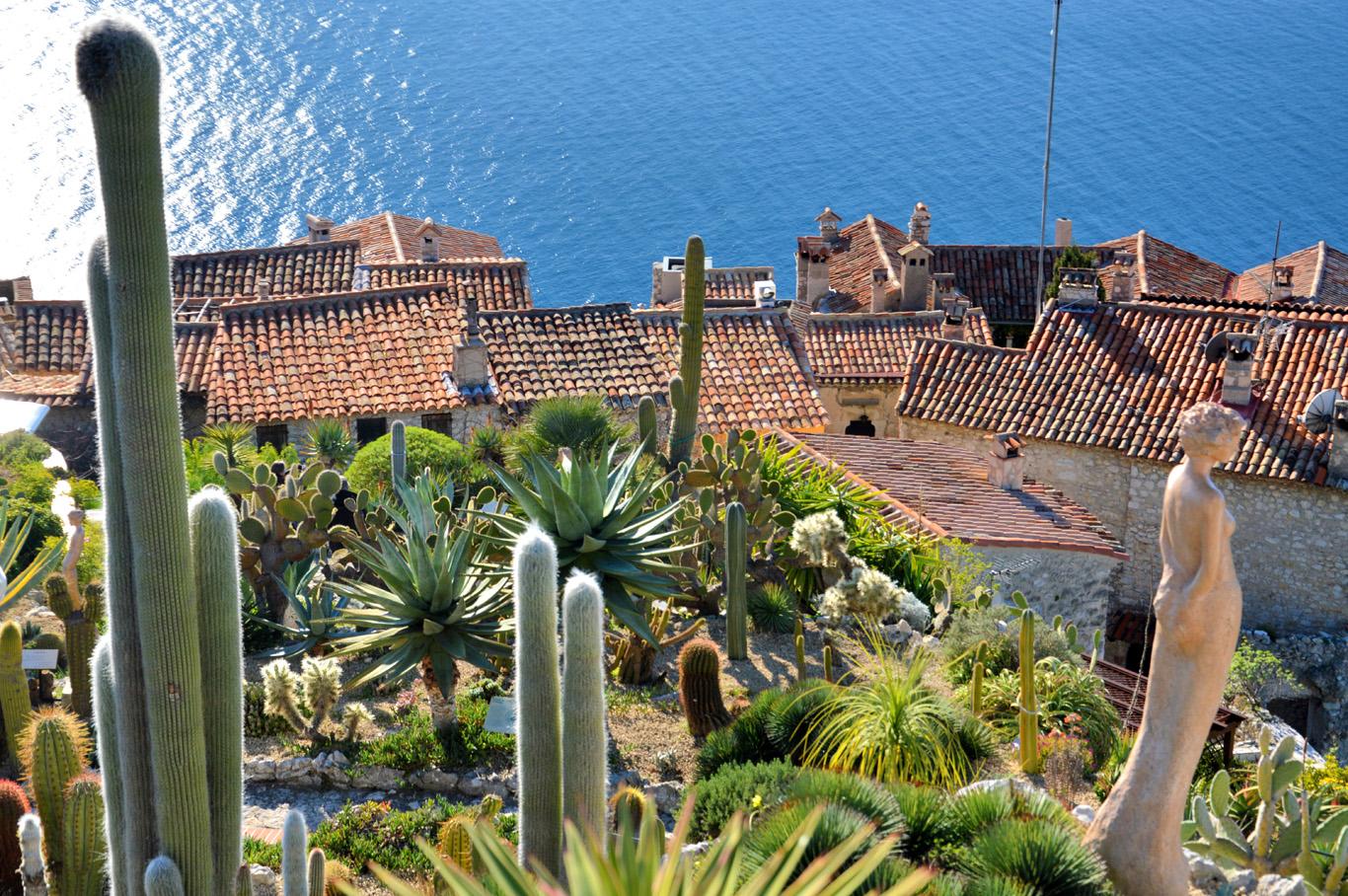 Exotic gardens in Eze