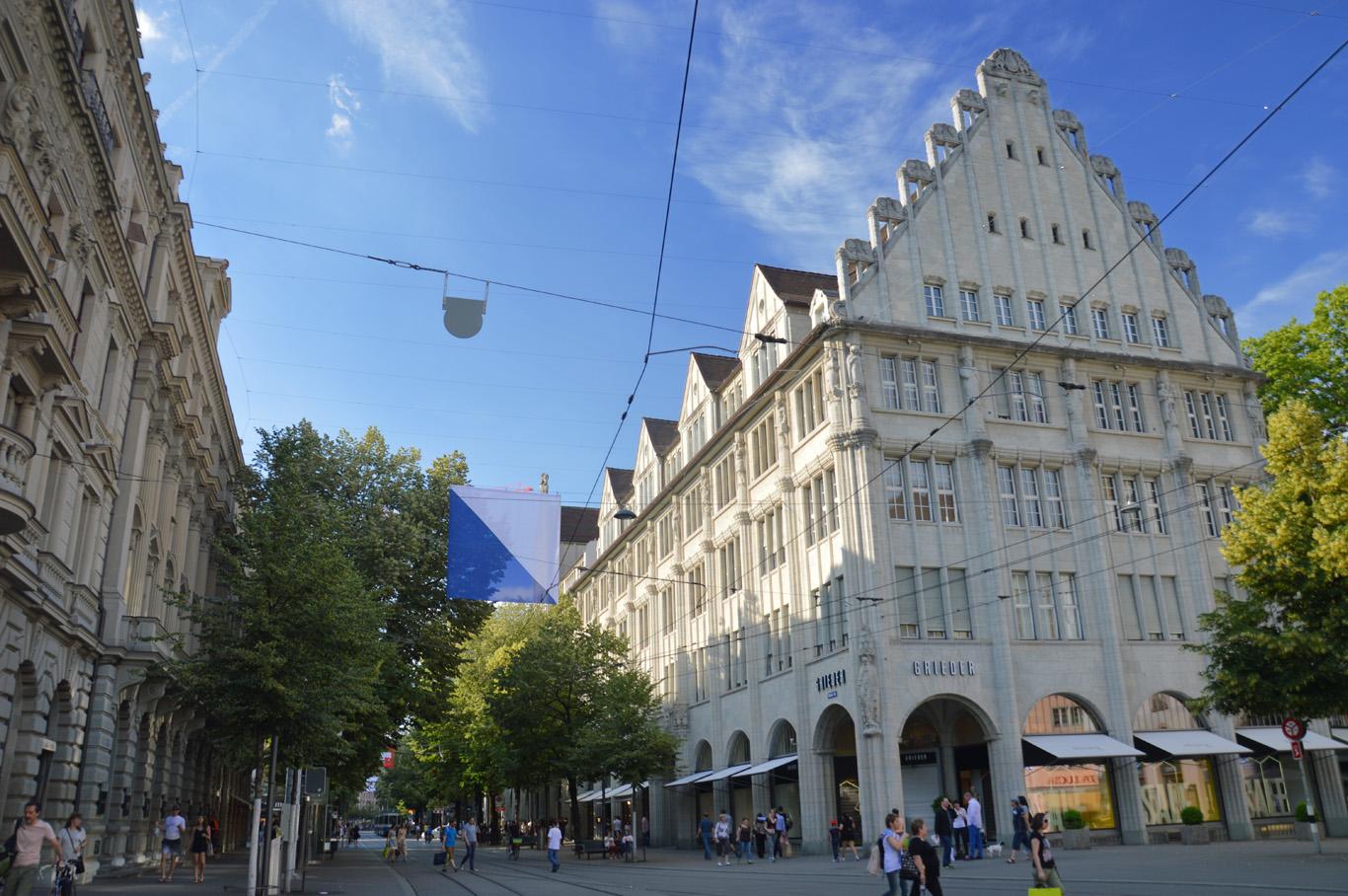 Bahnhofstrasse street