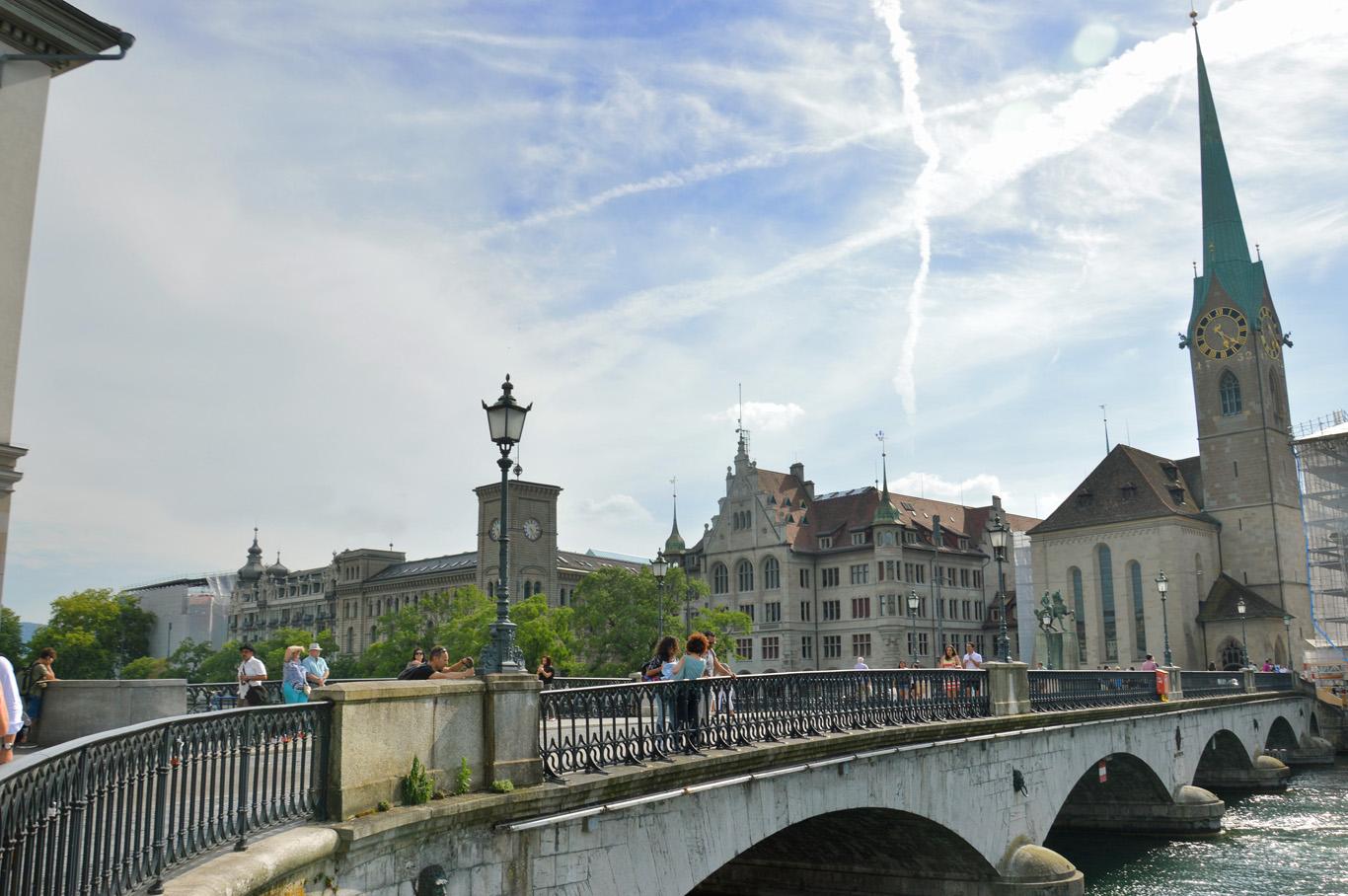 Munsterbrucke bridge