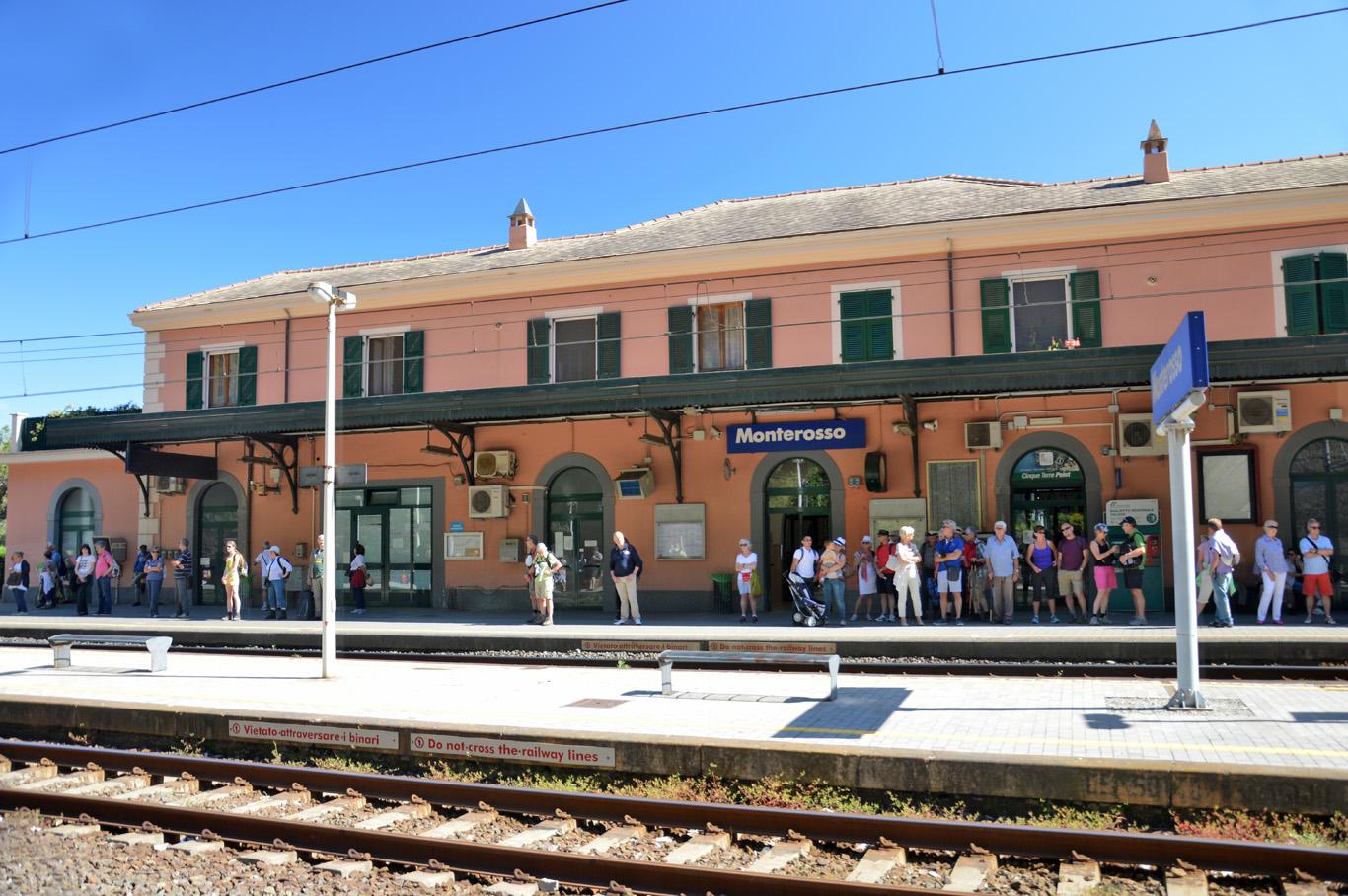 Train station in Monterosso