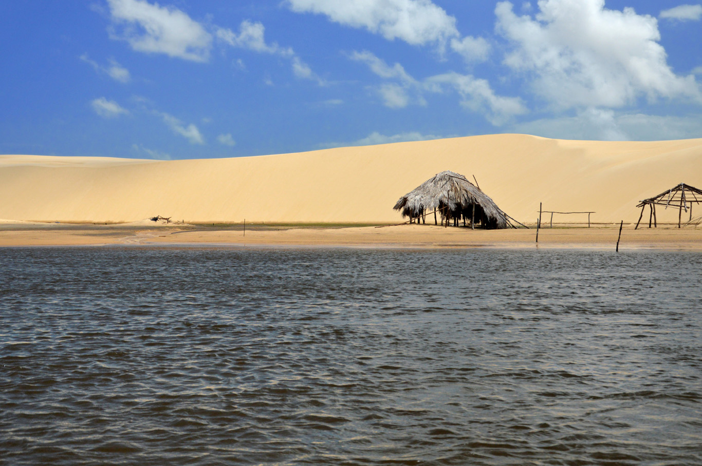 Dunes at Preguicas river