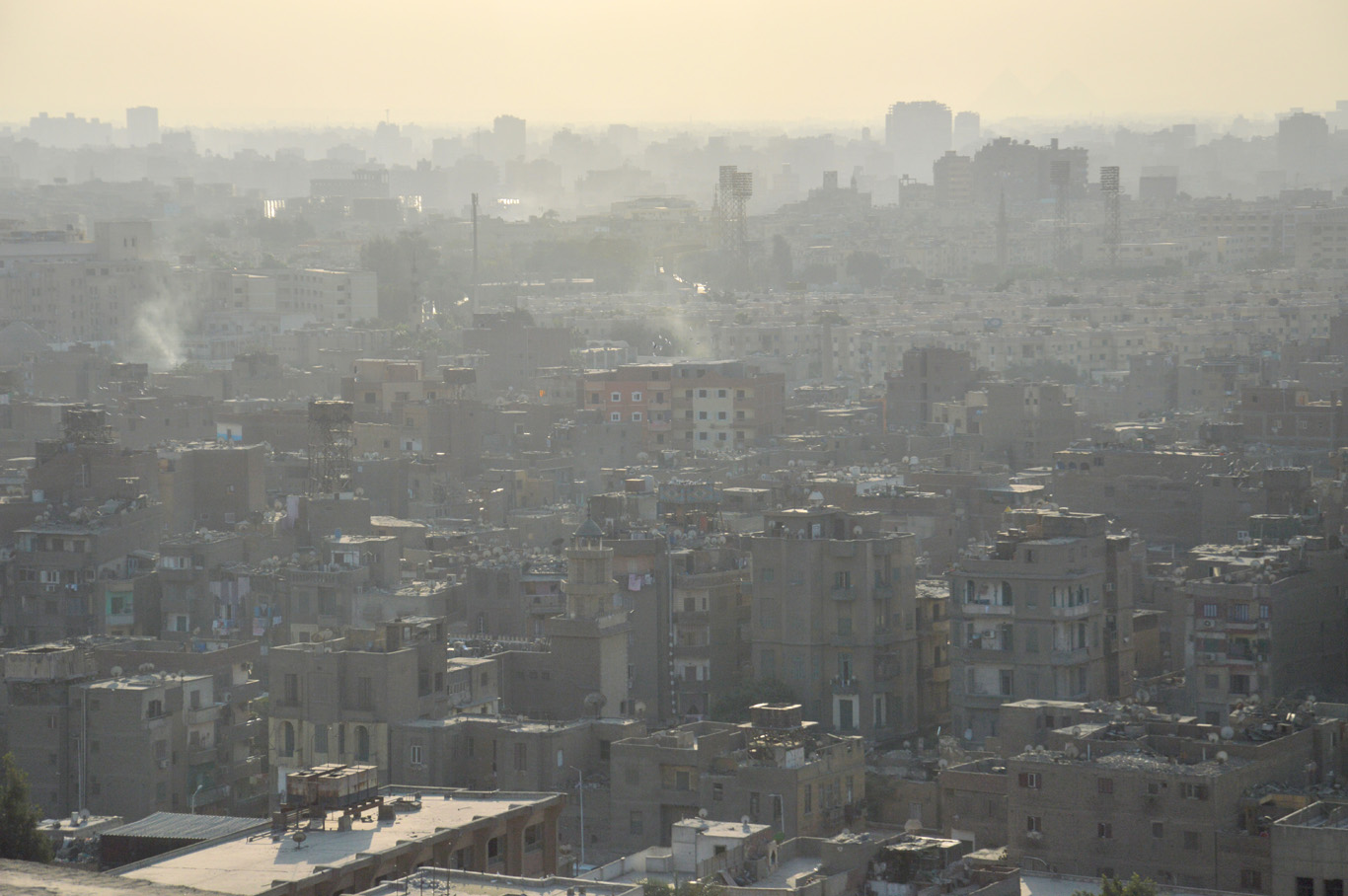 Smog in Cairo