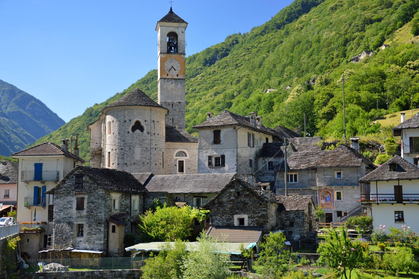 A village near Ponte dei Salti