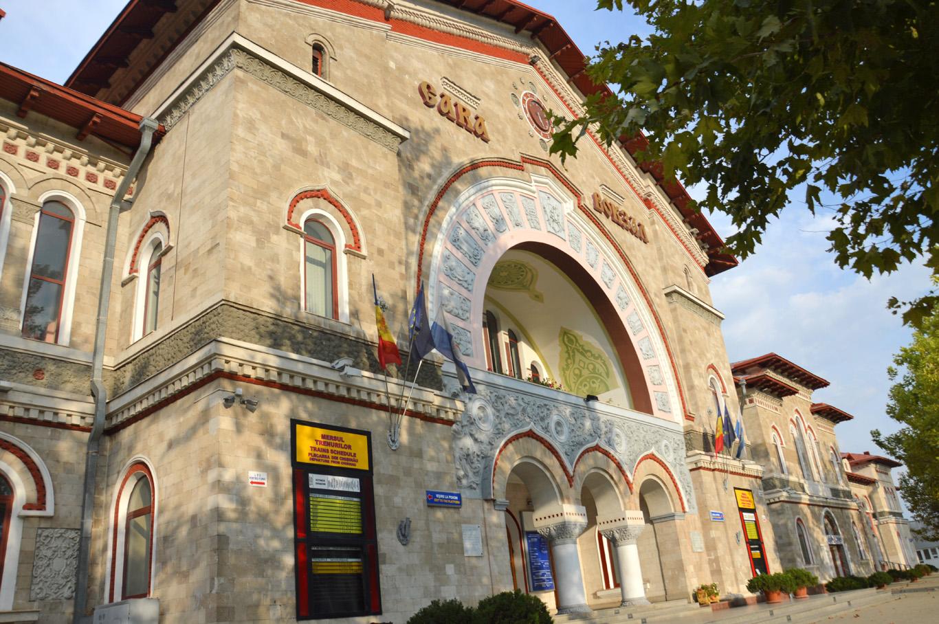 Train Station in Chisinau     more info