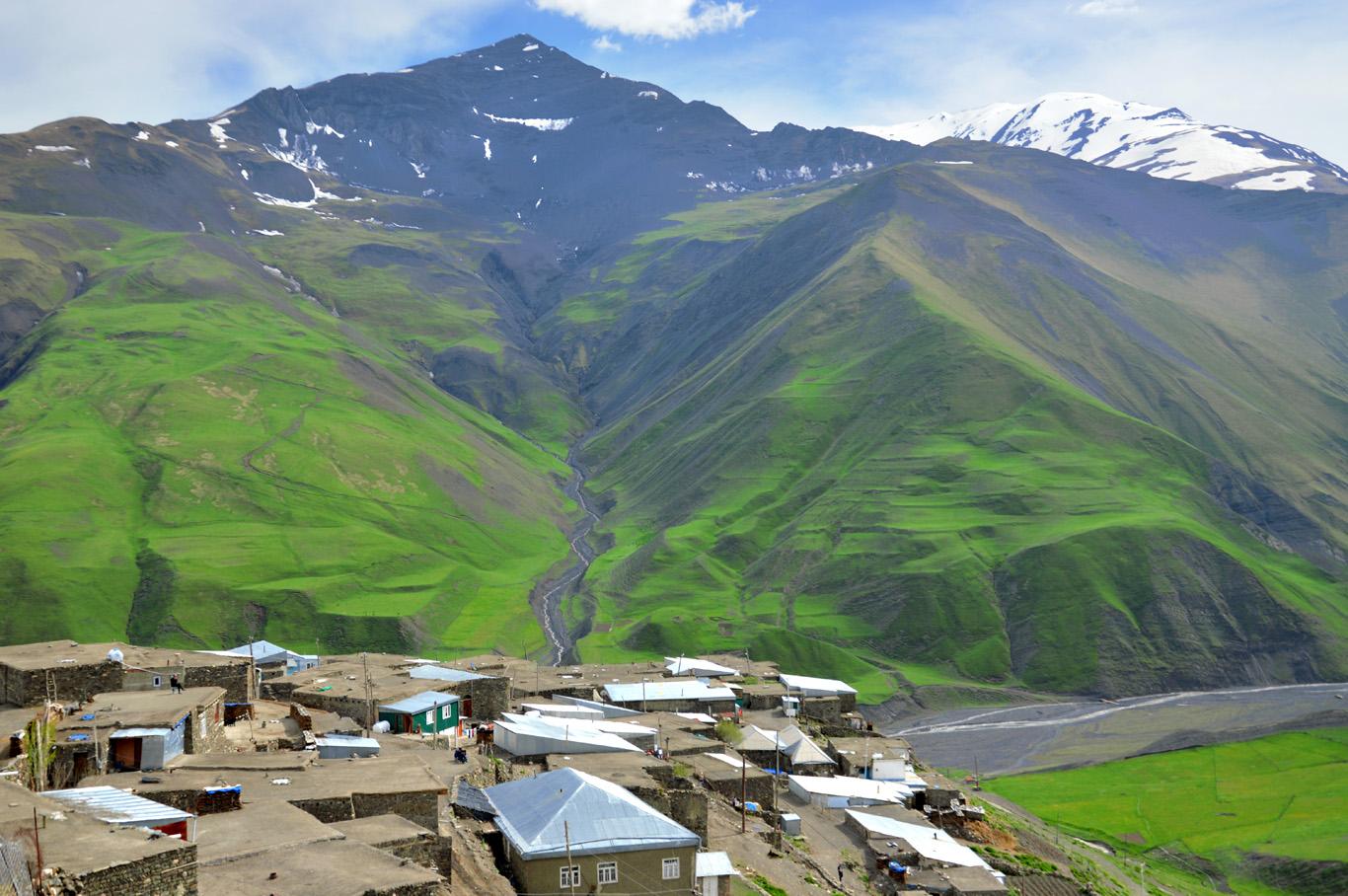 Caucasus Mountains     more info