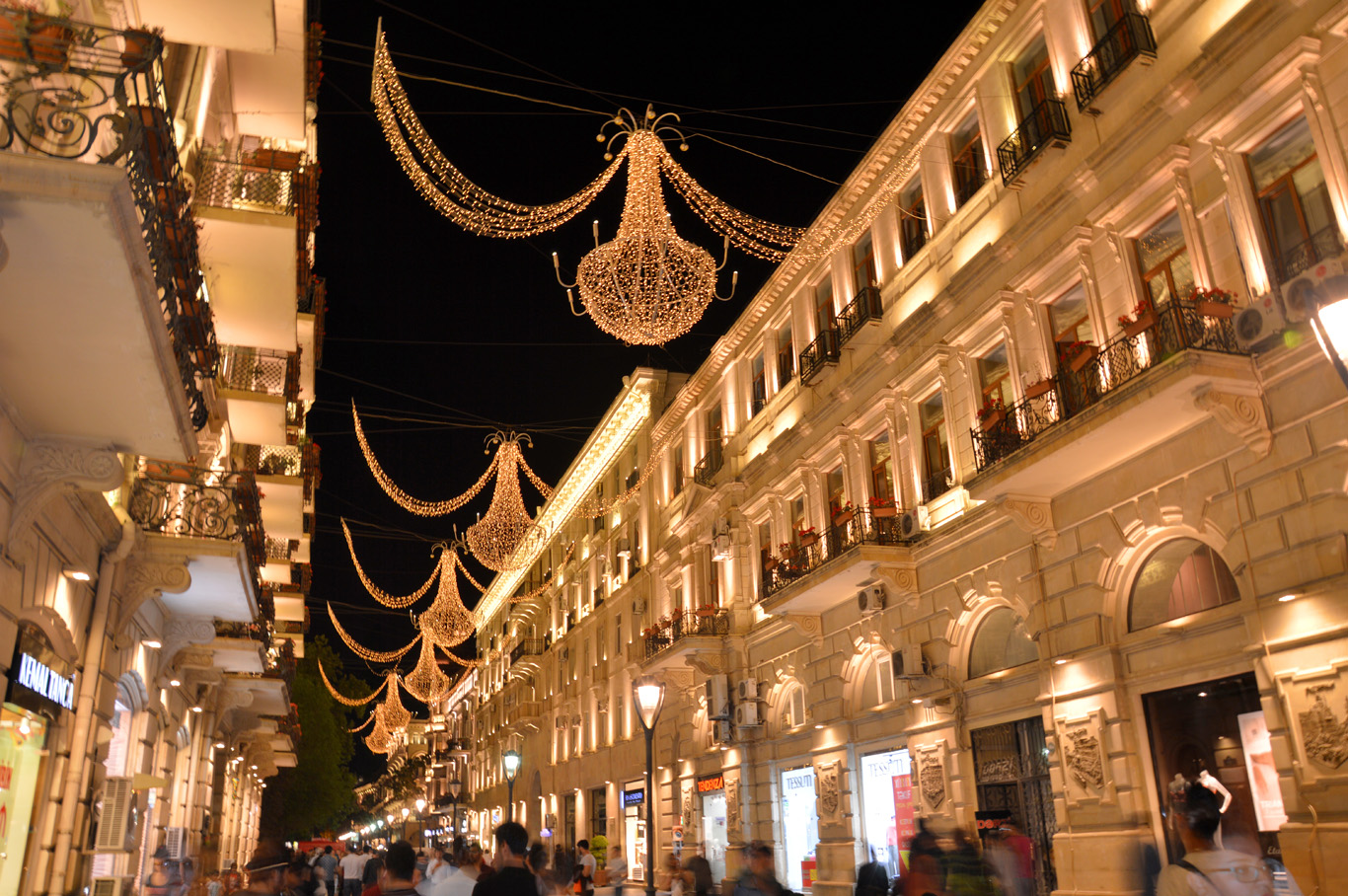 Baku at night     more info