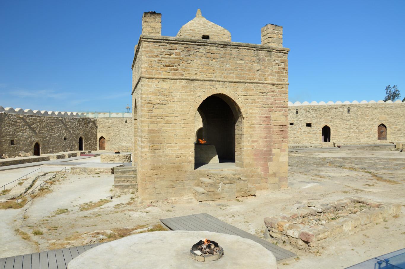 Ateshgah  Zaroastrian Temple     more info