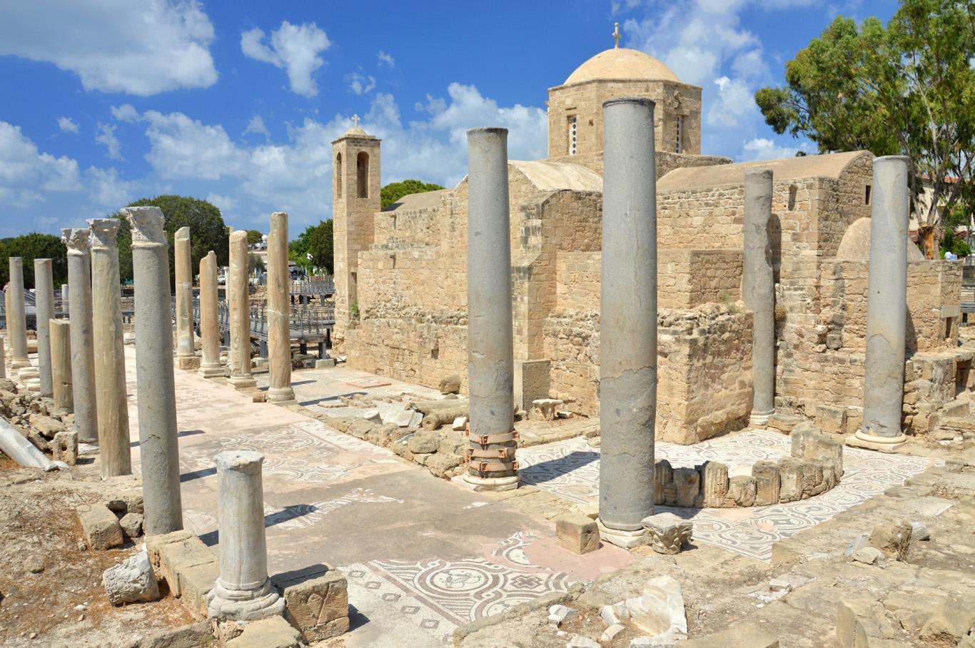 St. Paul's Pillar Church in Paphos     more info