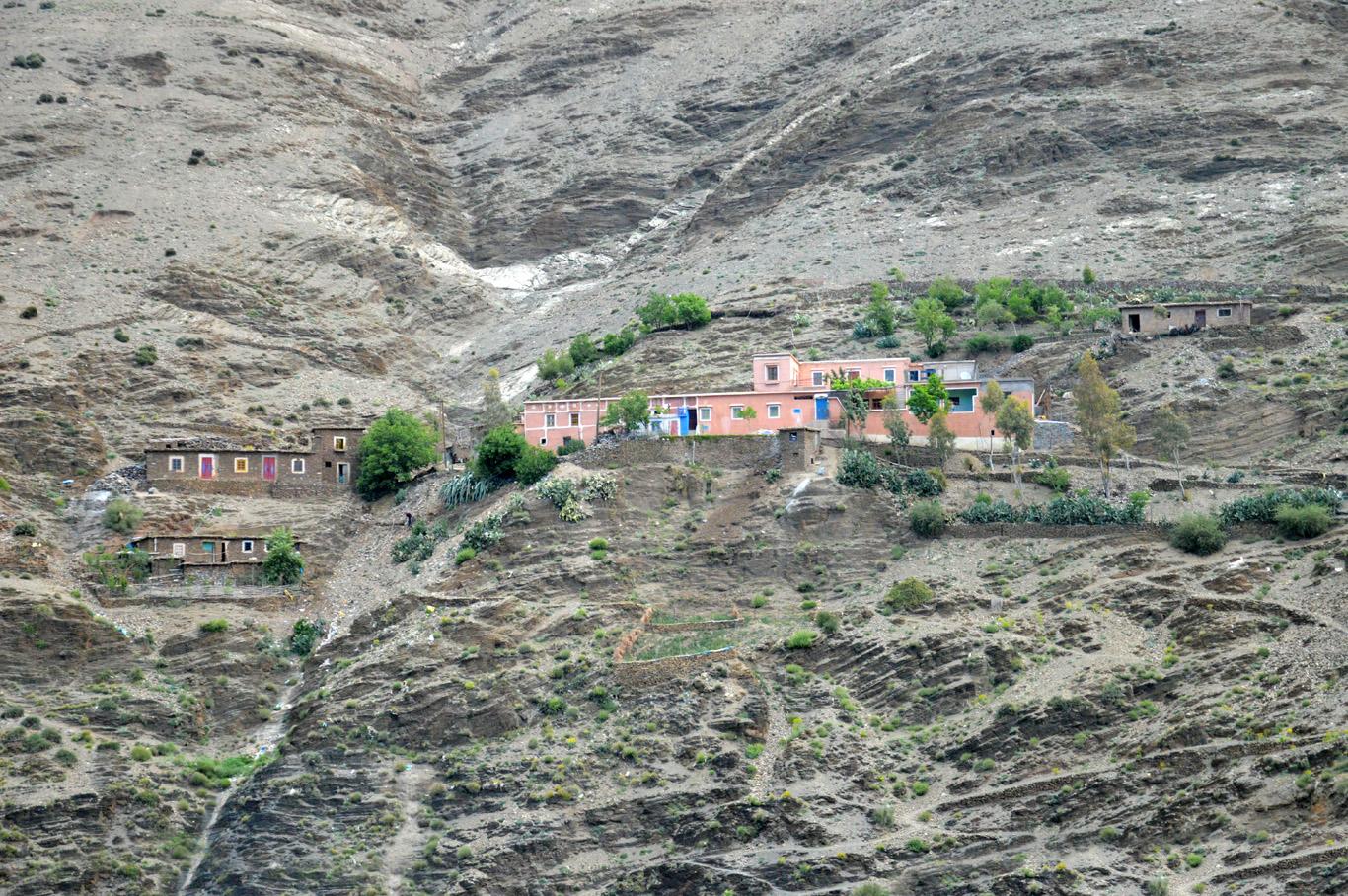 A village in Atlas Mountains