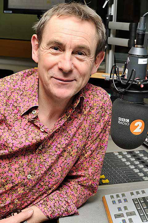 Nigel Barden, Radio 2's food-guru who cooked using Blackpit Beer, Sky Rocket