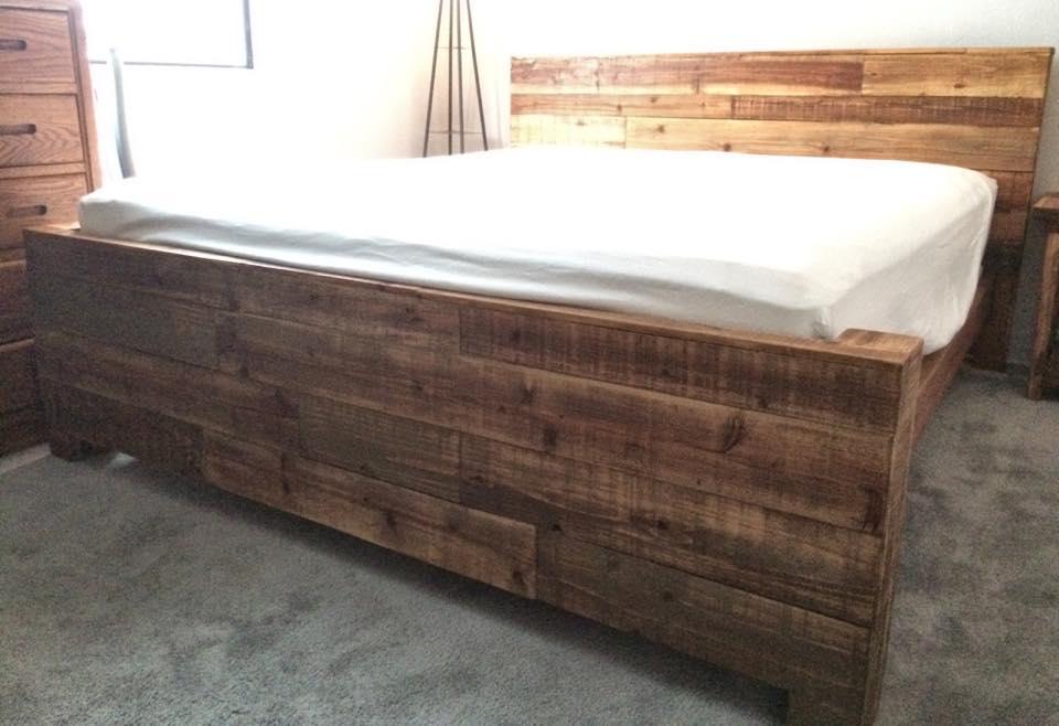 Satin Bed