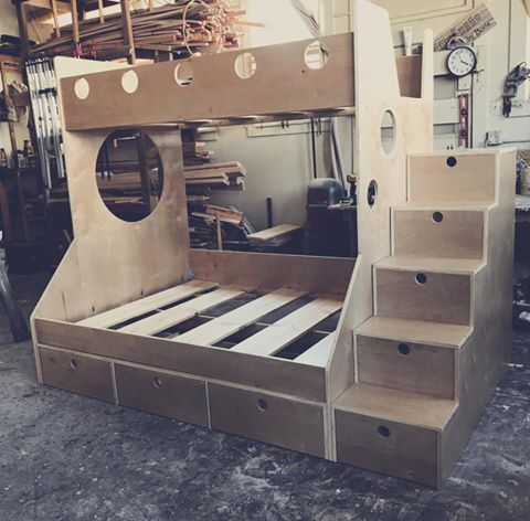 The Kiddo Bunk Bed