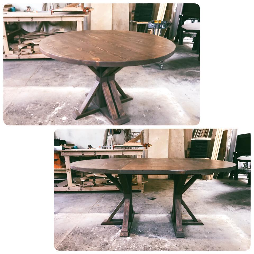 Lone Oval Dining Table