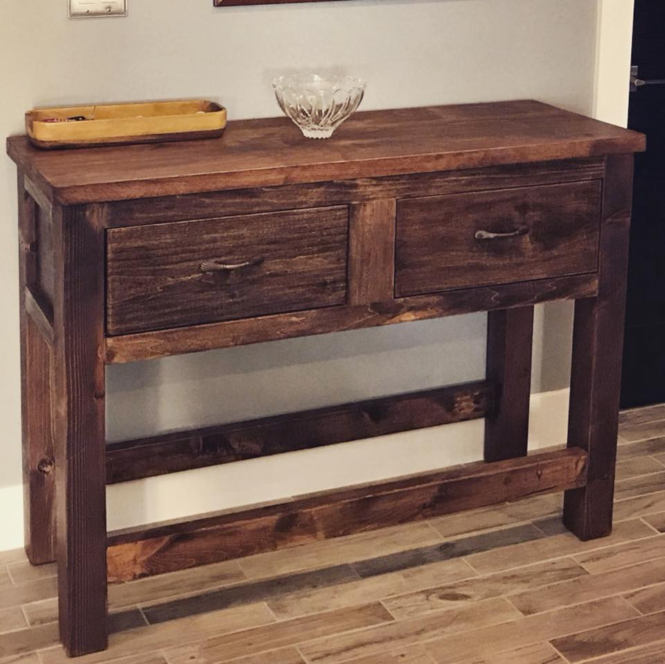 Napa Wall Table
