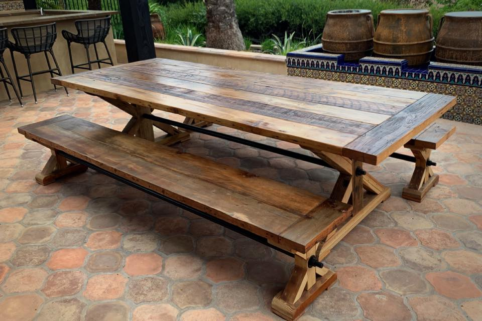 Ranch Dining Table Set