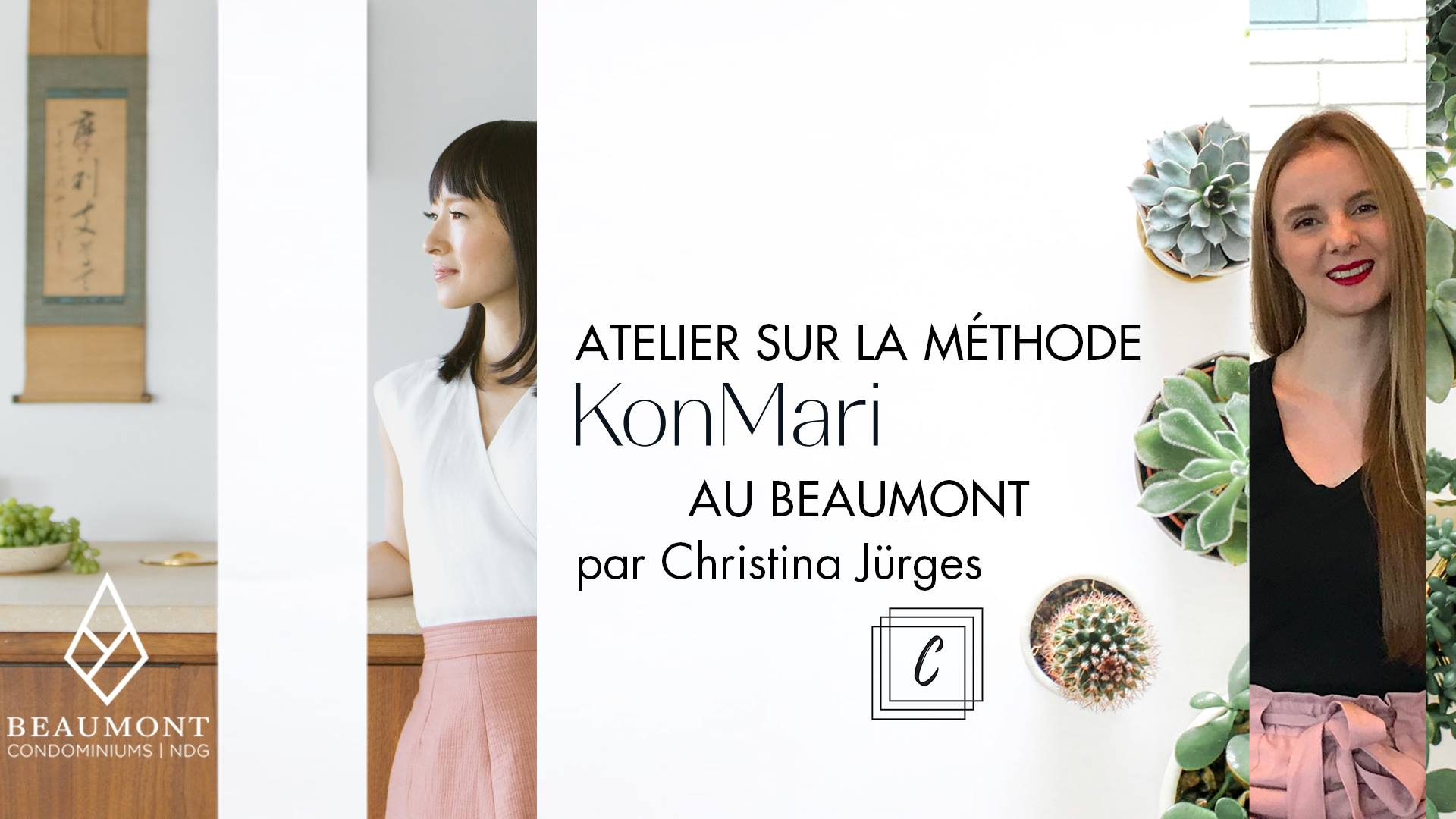 DevMcGill (Beaumont) - Workshop Focus: KonMari Method Coaching - how to create a space and life that spark joy