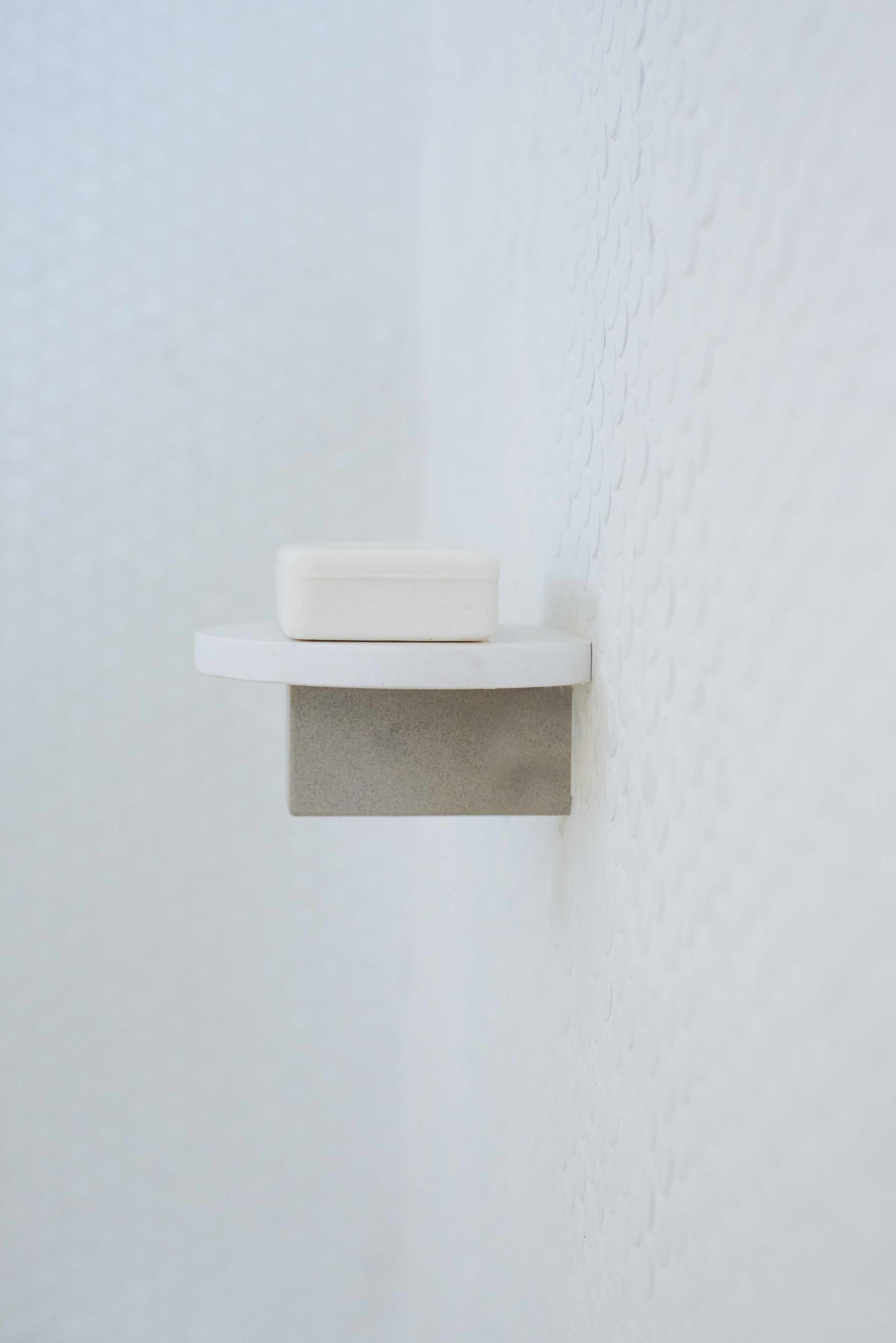 Custom designed soap holder