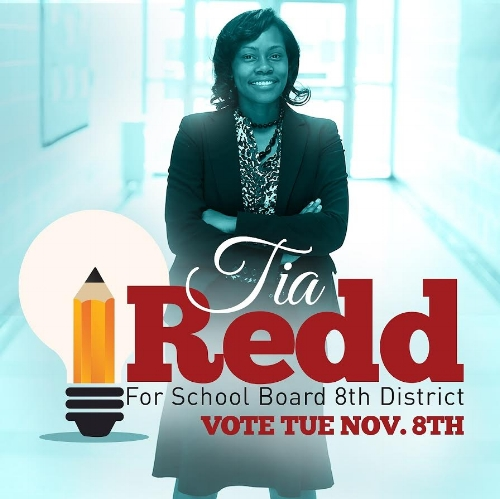 Tia is a lifelong Richmonder, graduate of Huguenot High, VCU and recently earned an Educational Doctorate from VSU. She has been an educator for 10 years. Tia is running for School Board in the 8th District.