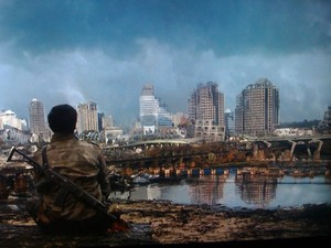 2012 TV Show Falling Skies- Richmond post alien attack