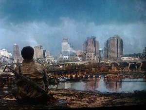 2012 TV Show Falling Skies- Richmond post alien attack