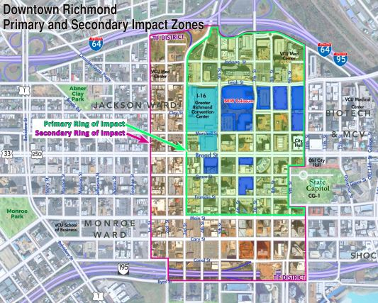 TIF District (Primary and Secondary Impact)- Hunden Strategic Partners Analysis