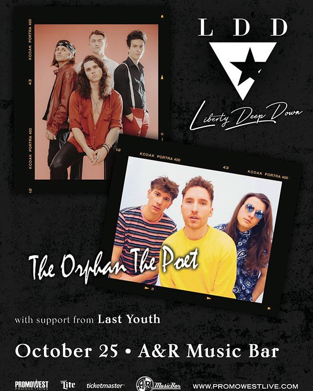 Been a long time coming for this one! we are co-headlining @AnRMusicBar in COLUMBUS on oct 25th with our pals @totpband ! tickets on sale friday, link is in our bio!