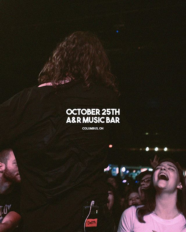 COLUMBUS. Tickets to our co-headliner with @totpband at the A&R Bar on 10/25 are going quick! Hit the link in our bio to grab yours or dm us to avoid fees! Can't wait to sing with all of you again